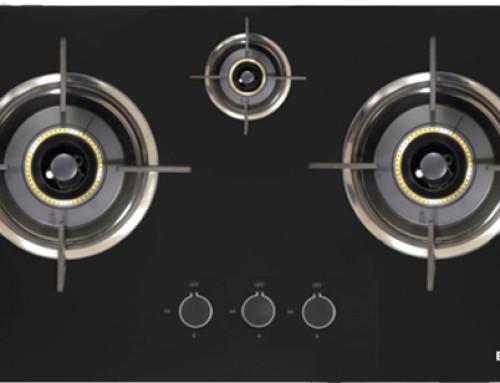 ELBA Cooker Hob EGH-D8503G(BK) & Hood 2918/90 SS
