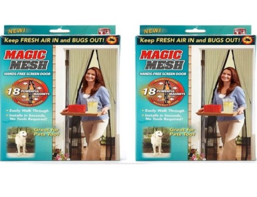 Magic Mesh Magnetic Screen Door ASOTV